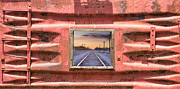 Picture Window Frame Photos Art - Looking Back Panorama by James Bo Insogna