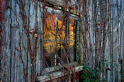 Old Barns Metal Prints - Looking Back Metal Print by Thomas Schoeller