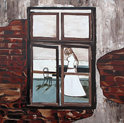 Christine Rasmussen Art - Looking In by Christine Rasmussen