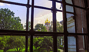 Russian Cross Photos - Looking Out - Novodevichy Convent - Russia by Madeline Ellis