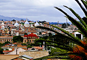 Al Central Prints - Looking To El Centro Cuenca Ecuador Print by Al Bourassa