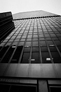 Manhaten Prints - Looking Up At 1 Penn Plaza On 34th Street New York City Usa Print by Joe Fox