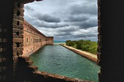 Dry Tortugas Photo Prints - Lookout Window Print by Adam Jewell