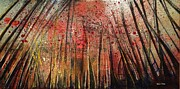 Deforestation Paintings - Looming Destiny by Kathleen Barnard