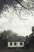 Haunted House Photo Prints - Looming Print by Margie Hurwich