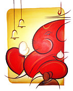 Ganapati Paintings - Lord Ganesha by Art