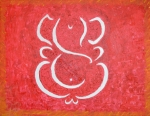 Vinayaka Paintings - Lord of Lords by Sonali Gangane
