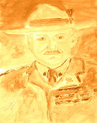 Aids Paintings - Lord Robert Baden Powell and Scouting 3 by Richard W Linford