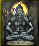 Ravi Kumar - Lord Shiva in meditation