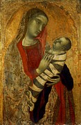 Child Jesus Prints - Lorenzetti Ambrogio, Madonna Print by Everett