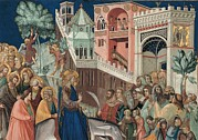 Female Christ Photos - Lorenzetti Pietro, Entry Of Christ by Everett