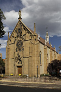 Catholic Church Posters - Loretto Chapel - Santa Fe Poster by Mike McGlothlen