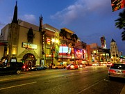 Hard Rock Cafe Prints - Los Angeles 008 Print by Lance Vaughn