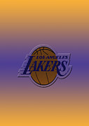Nba Art - Los Angeles Lakers by Paulo Goncalves
