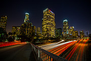 Albert Valles - Los Angeles Night Traffic