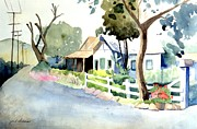San Juan Paintings - Los Rios Street San Juan Capistrano California by Gail Sellers