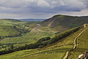 Tor Framed Prints - Losehill To Mam Tor Framed Print by Darren Burroughs