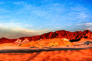 Lost Egyptian Landscape Print by Mark Tisdale