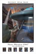 Ufo Framed Prints - Lost Film Number 5 SE Framed Print by Mike McGlothlen