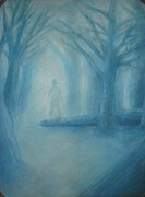 Mystical Pastels Prints - Lost Forest Print by Edgar Espino