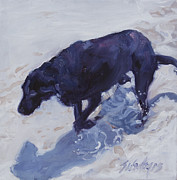 Retriever Prints Originals - Lost In A Day Dream by Sheila Wedegis