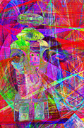 Hi-tech Posters - Lost In Abstract Space 20130611 Poster by Wingsdomain Art and Photography