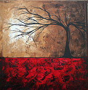 Megan Duncanson Metal Prints - Lost in the Forest by MADART Metal Print by Megan Duncanson