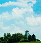 Control Tower Photo Posters - Lost In Time Poster by Rhonda Barrett
