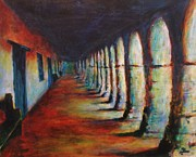 San Juan Prints Paintings - Lost in Transition by Valerie Greene