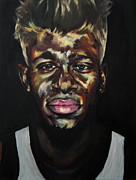 Justin Bieber Paintings - Lost In Translation by Bluart Stack