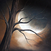 Fantasy Tree Art Painting Posters - Lost In Your Beauty by Shawna Erback Poster by Shawna Erback