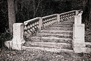 Stairs Photo Posters - Lost Staircase Poster by Olivier Le Queinec
