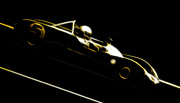 Phil Motography Clark Prints - Lotus 23B Racer Print by Phil