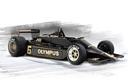 Peterson Prints - Lotus 79 Print by Peter Chilelli