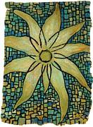 Lotus Print by Carla Sa Fernandes