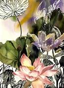Alfred Ng - lotus with dragonfly