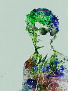 Rock Star Painting Prints - Lou Reed Print by Irina  March