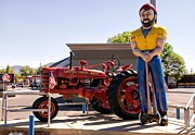 University Of Arizona Art - Louie The Lumberjack by Bob Pardue