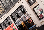 Shopfront Prints - Louis Vuitton 02 Print by Rick Piper Photography