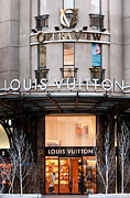 Shopfront Prints - Louis Vuitton 03 Print by Rick Piper Photography
