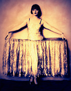 Ziegfeld Girl Prints - Louise Brooks in Showgirl Costume  Print by Rosie Mills