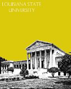 Louisiana State University 2 - Mustard Print by DB Artist