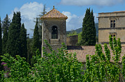 Provence Village Prints - Lourmarin Castle in Provence Print by Dany Lison