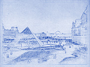 Justin Woodhouse - Louvre and Paris Skyline...