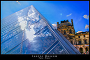France Doors Framed Prints - Louvre Museum - Paris Framed Print by Dany Lison