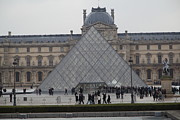 Couple Metal Prints - Louvre - Paris France - 011312 Metal Print by DC Photographer