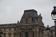 Exterior Art - Louvre - Paris France - 011321 by DC Photographer
