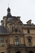 Vertical Photo Prints - Louvre - Paris France - 011322 Print by DC Photographer