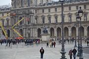 Louvre - Paris France - 011324 Print by DC Photographer