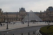Pei Metal Prints - Louvre - Paris France - 01136 Metal Print by DC Photographer